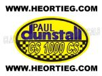Paul Dunstall Suzuki GS 1000 CS Tank and Fairing Transfer Decal DDUN11-8